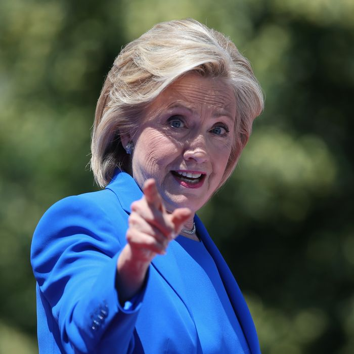 Hillary Clinton Holds Campaign Kick-Off Rally In NYC
