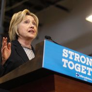 Hillary Clinton Gives Economic Address In Columbus, Ohio