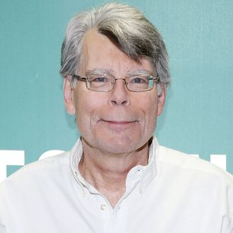 Stephen King Signs Copies Of His Book