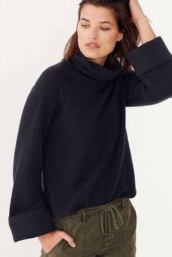 Anthropologie Thomasa Turtleneck Sweatshirt