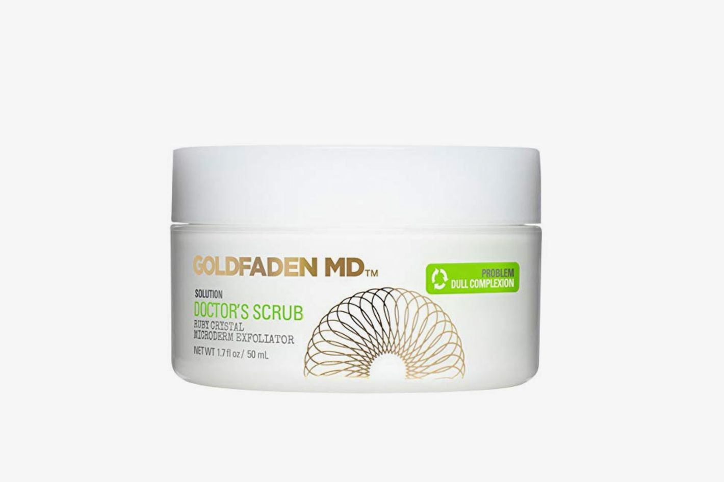Goldfaden MD Microderm Daily Facial Exfoliator Doctor's Scrub for Face