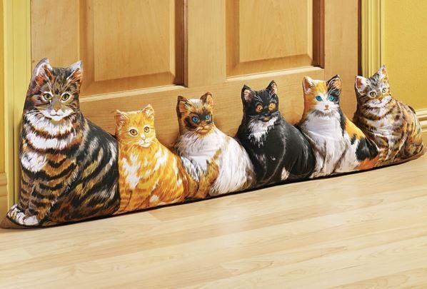 Fox Valley Traders Cat Draft Block