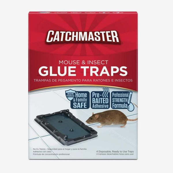Catchmaster Mouse & Insect Professional Strength Glue Traps, Pack of 16