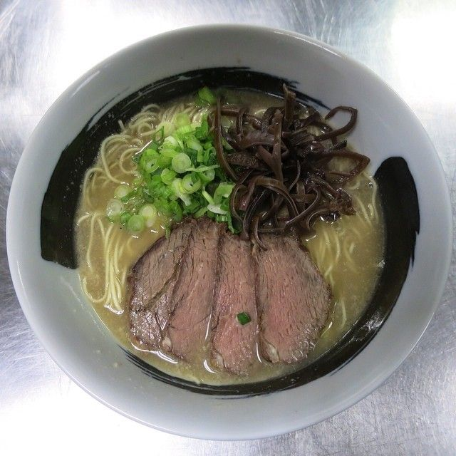 Shimamoto also says he put his heart and soul into this beef-based ramen.