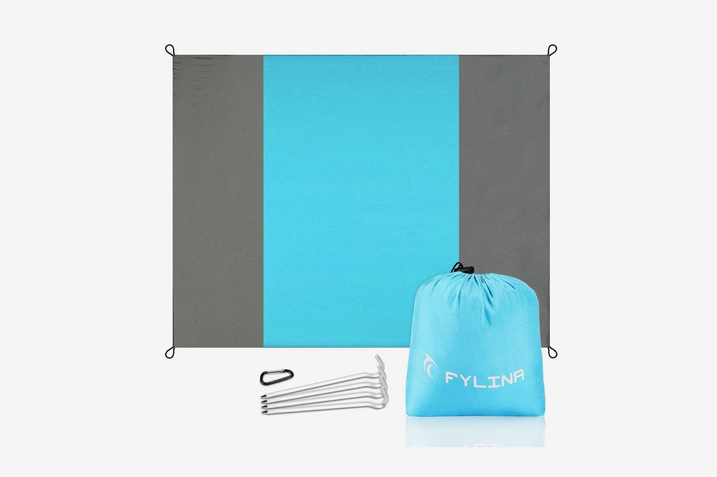 FYLINA Quick Drying Ripstop Nylon Compact Outdoor Picnic Beach Mat