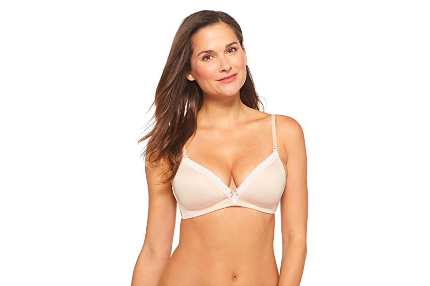 Microstretch Wire-Free Nursing Bra by Gilligan & O'Malley