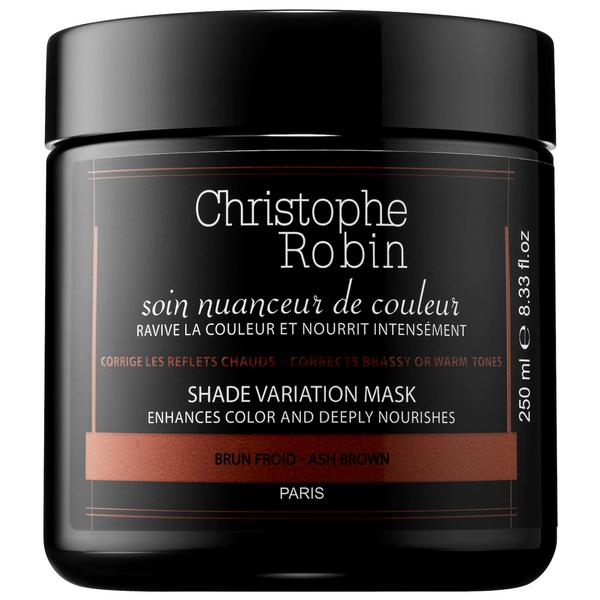 Christophe Robin Shade Variation Hair Mask - Ash Brown