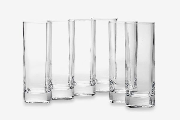 Luigi Bormioli Strauss SON.hyx Square Highball Glasses (Set of 6)