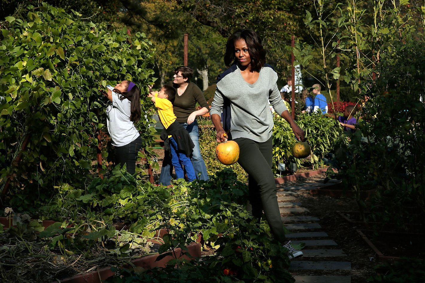 Kitchen Garden Magazine Subscription What Will Become Of Michelle Obamas Garden