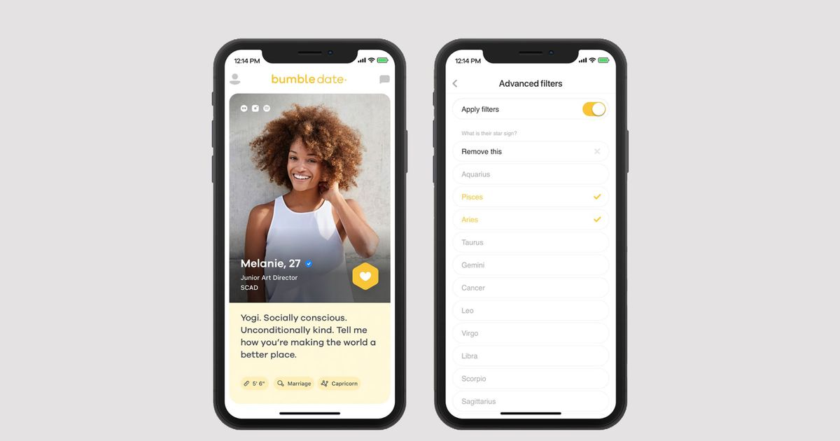Bumble's New Filtering Tool Seems Useful, If Flawed