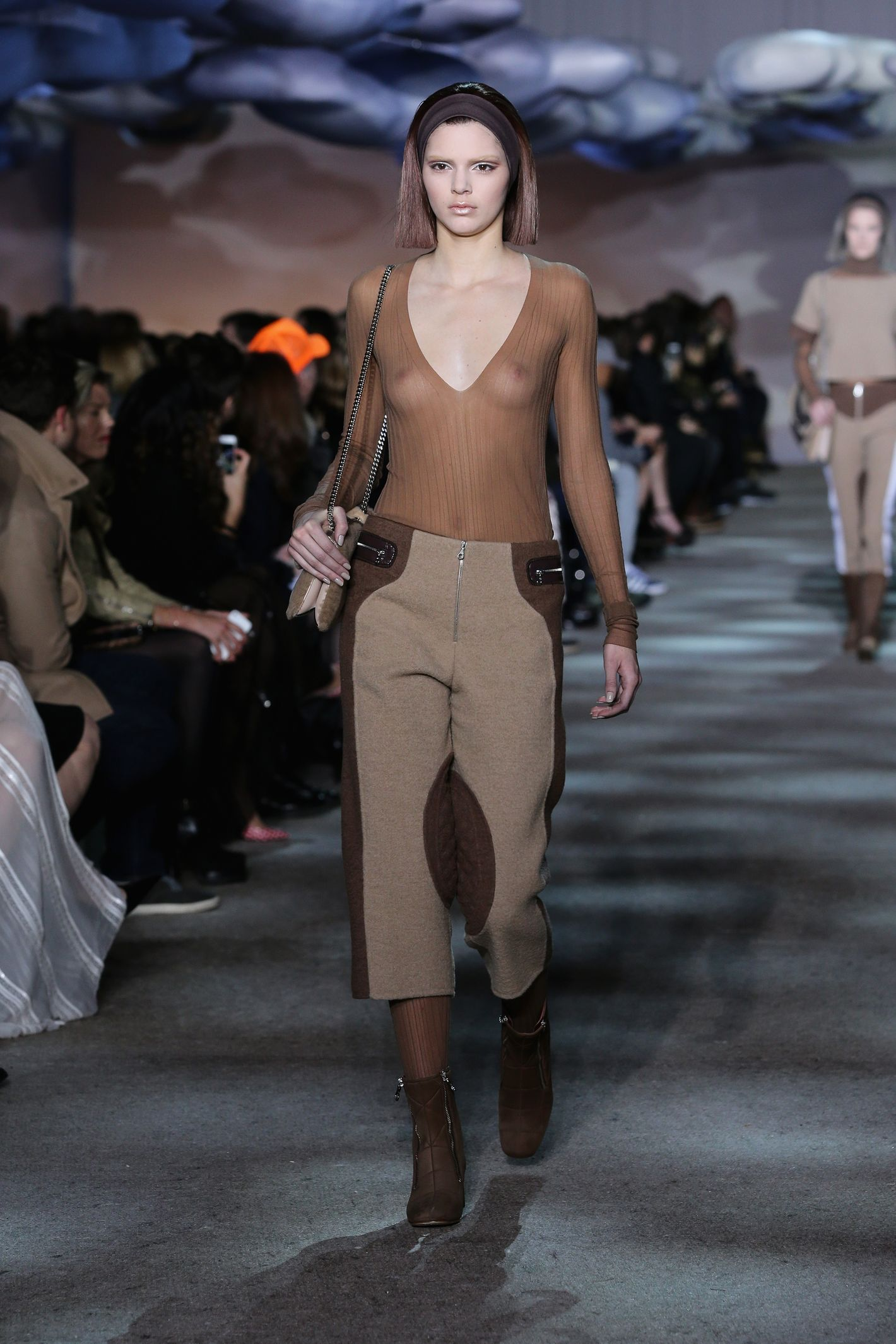 Major: Kendall Jenner Walked in Marc Jacobs' Runway Show (in a Totally See-ThroughTop) picture