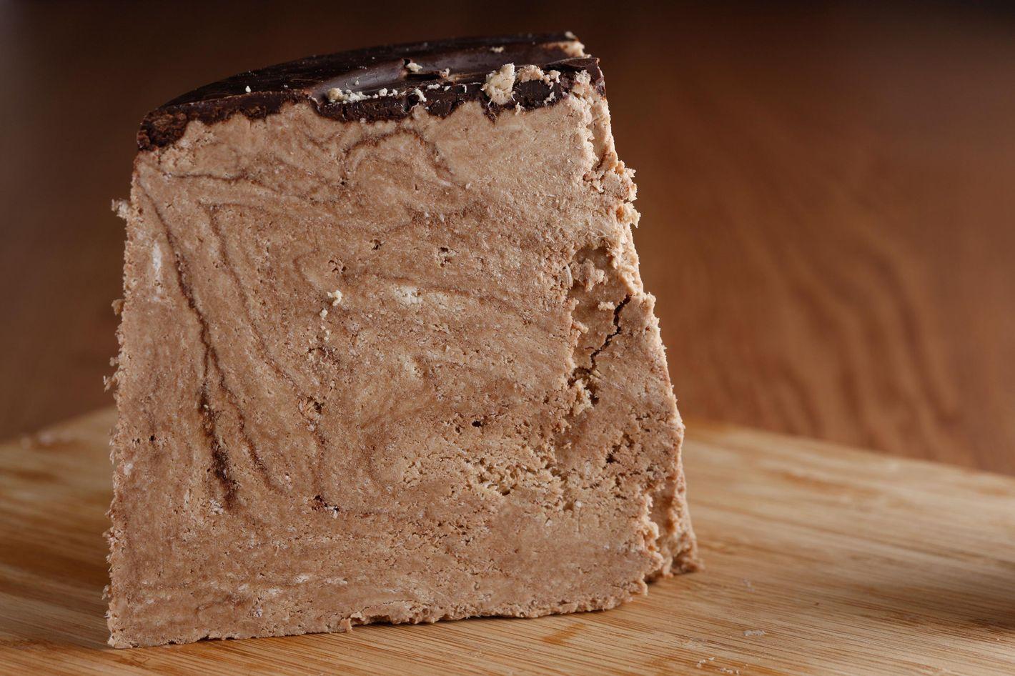 Chocolate halva.