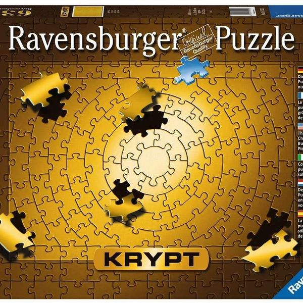 Ravensburger Gold Impossible 631 Piece Jigsaw Puzzle