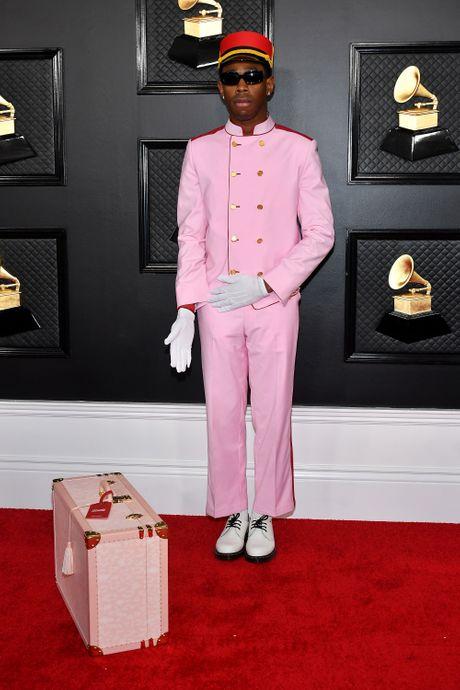 Tyler at the 2020 Grammy Awards