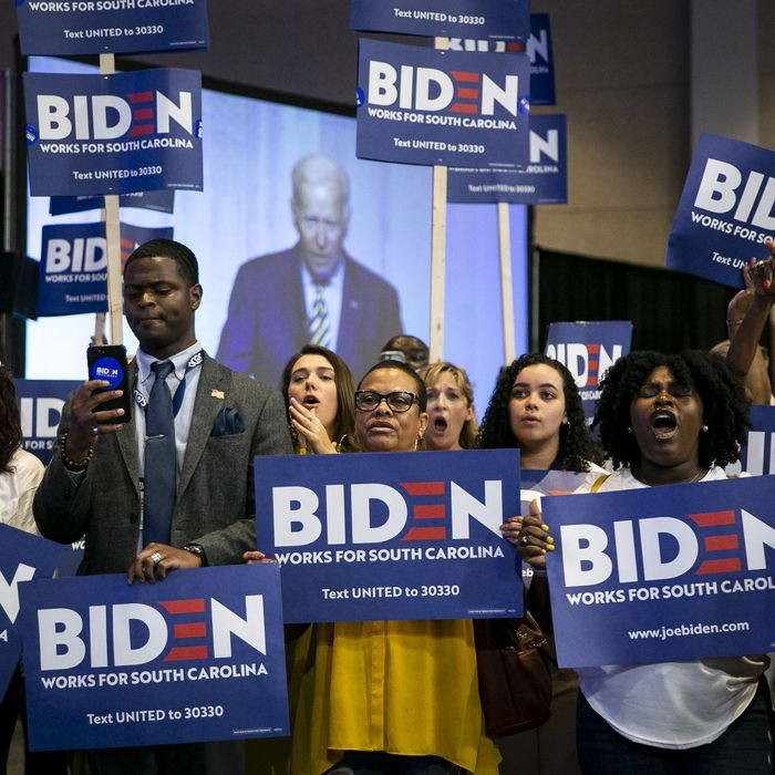Black supporters of 2020 presidential candidate Joe Biden.