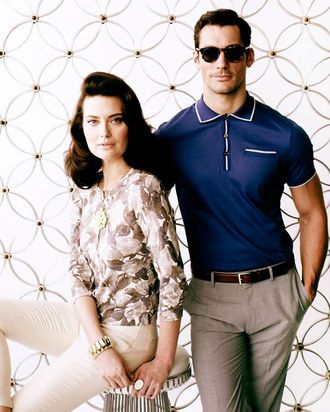 A look from Banana Republic's new Mad Men collection.