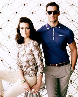 New spring pieces for the Banana Republic Mad Men spring collection.