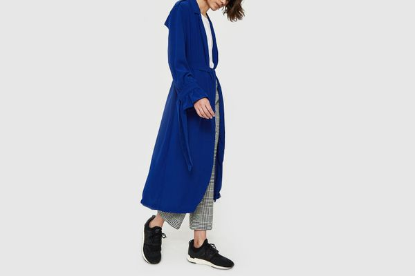 Farrow Mar Coat in Cobalt