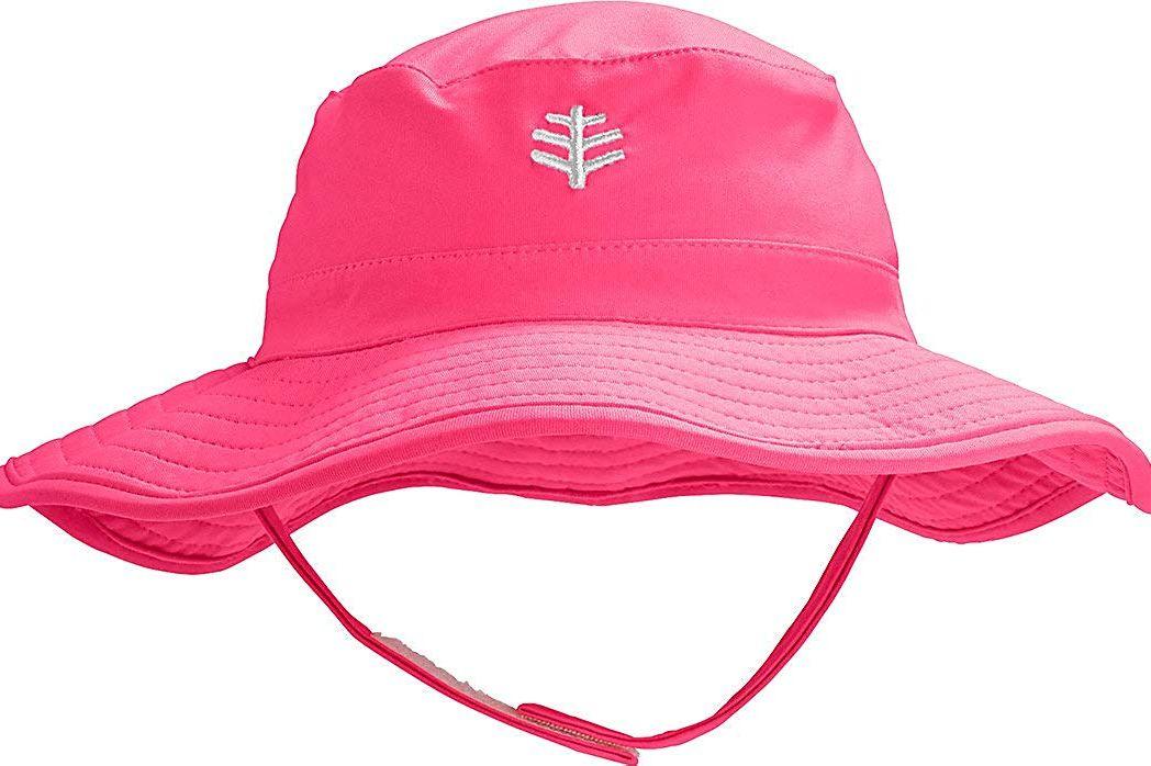 Coolibar UPF 50+ Baby Splashy Bucket Hat