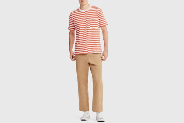 Uniqlo X JWA Relaxed Chino Flat-Front Pants