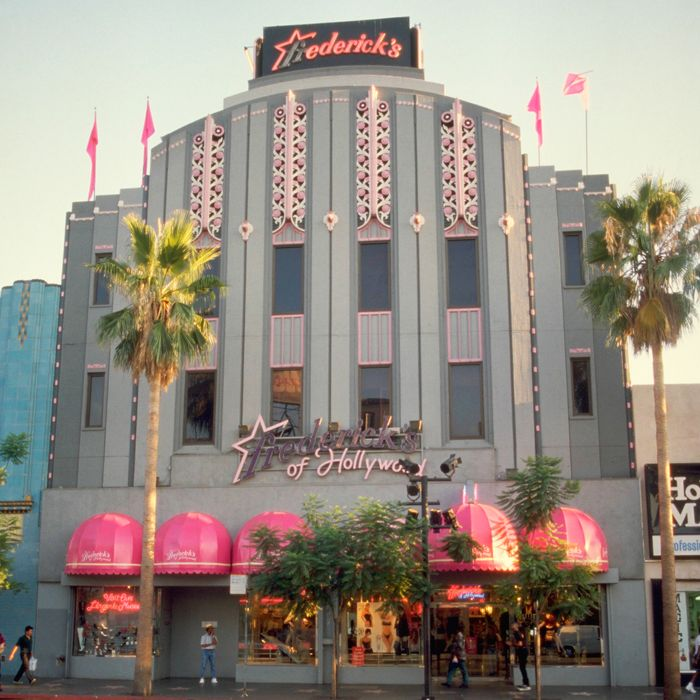 Frederick's of Hollywood.