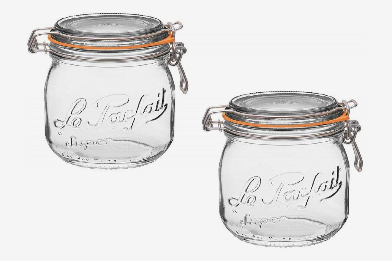 Le Parfait French Glass Canning Jar