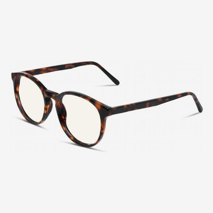 Blue Light Blocking Glasses for Women Men Vintage Square Frame Clear Lens Computer Game Eyeglasses