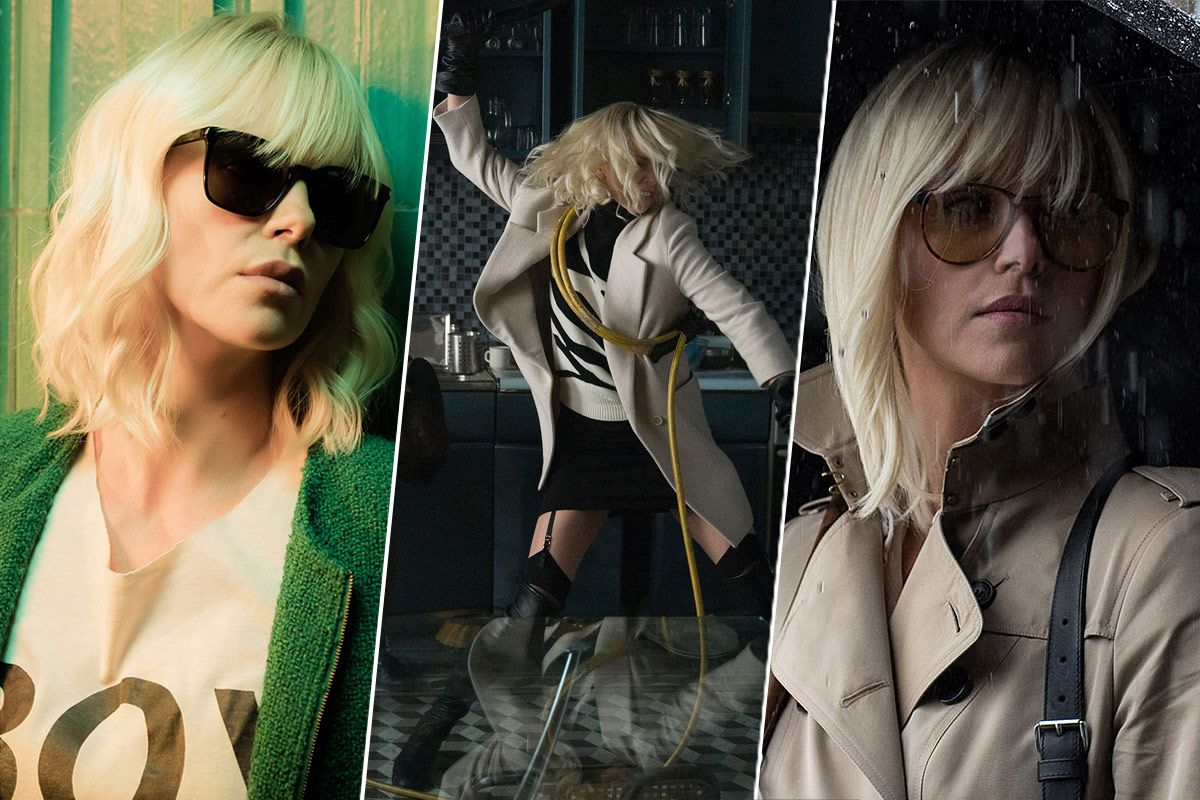 Image result for atomic blonde style