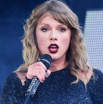 Taylor Swift Gets Emotional Onstage While Addressing Herual Assault
