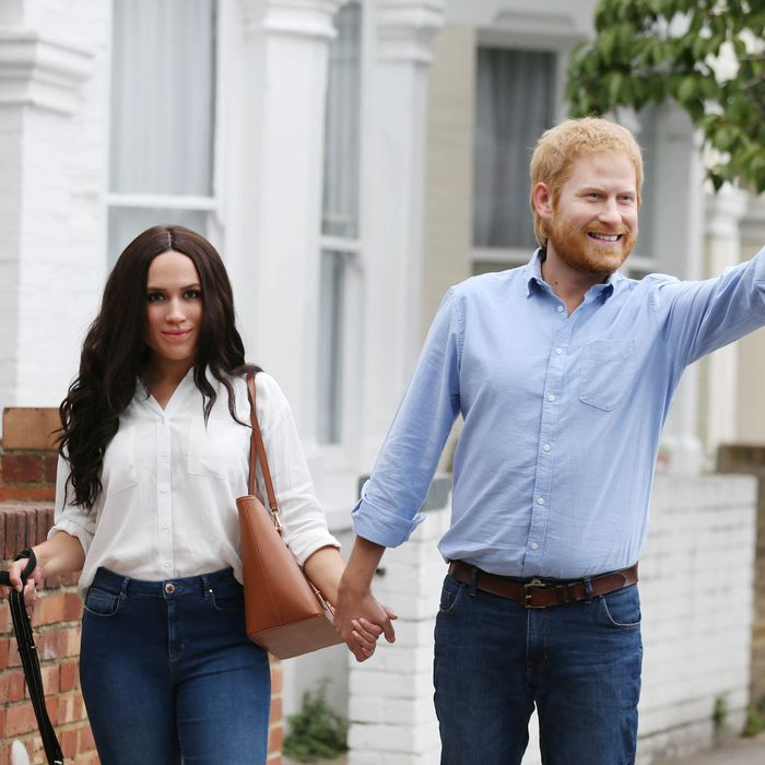 d3e4435e4f24 Wax Meghan Markle and Prince Harry Figures Have Come to Life