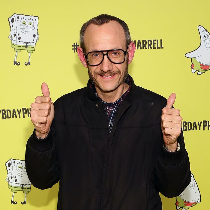 Upcoming dad Terry Richardson.