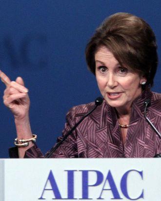 House Democratic Leader Nancy Pelosi(D-CA) in Washington DC, March 5, 2012.