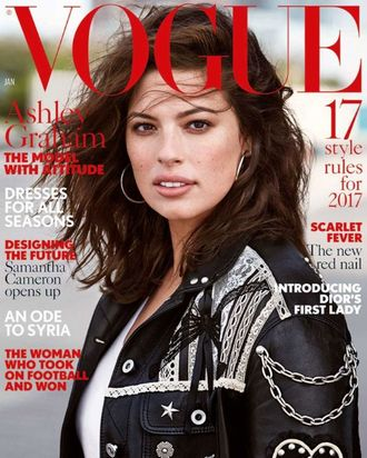 67b6d21894 Brands Refuse To Dress Ashley Graham For British Vogue Cover
