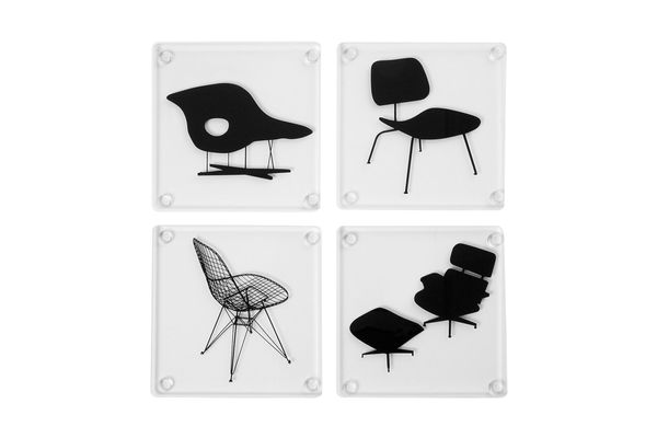 MoMA Acrylic Chair Coasters