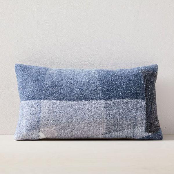 "West Elm x Eileen Fisher Dark Indigo Pillow Cover (12""x21"")"
