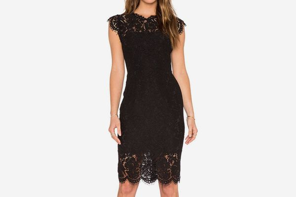 MEROKEETY Sleeveless Lace Cocktail Dress