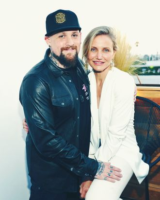 Cameron Diaz and Benji Madden.