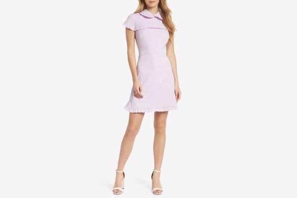Gal Meets Glam Crepe Dress