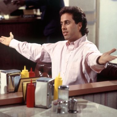 "SEINFELD -- ""The Mango"" Episode 1 -- Pictured: Jerry Seinfeld as himself  (Photo by Monty Brinton/NBC/NBCU Photo Bank via Getty Images)"