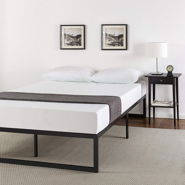 Zinus Abel 14-Inch Metal Platform Bed Frame With Steel-Slat Support