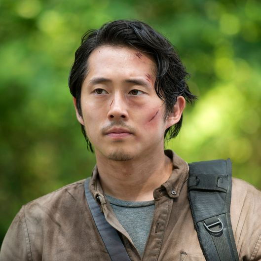 Steven Yeun as Glenn Rhee - The Walking Dead _ Season 6, Episode 3 - Photo Credit: Gene Page/AMC