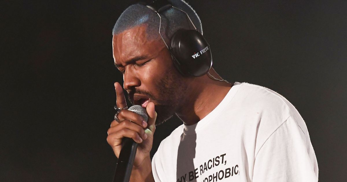 Frank Ocean performs at the 2017 Panorama Music Festival on Randall's Island in New York on July 28, 2017.