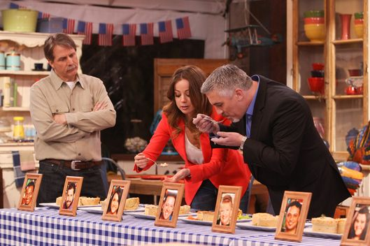 Host Jeff Foxworthy looks on as judges chef Marcela Valladolid and Paul Hollywood, star baker and judge of the UK show version, sample the contestants? baked goods and prepare to eliminate one amateur baker on THE AMERICAN BAKING COMPETITION