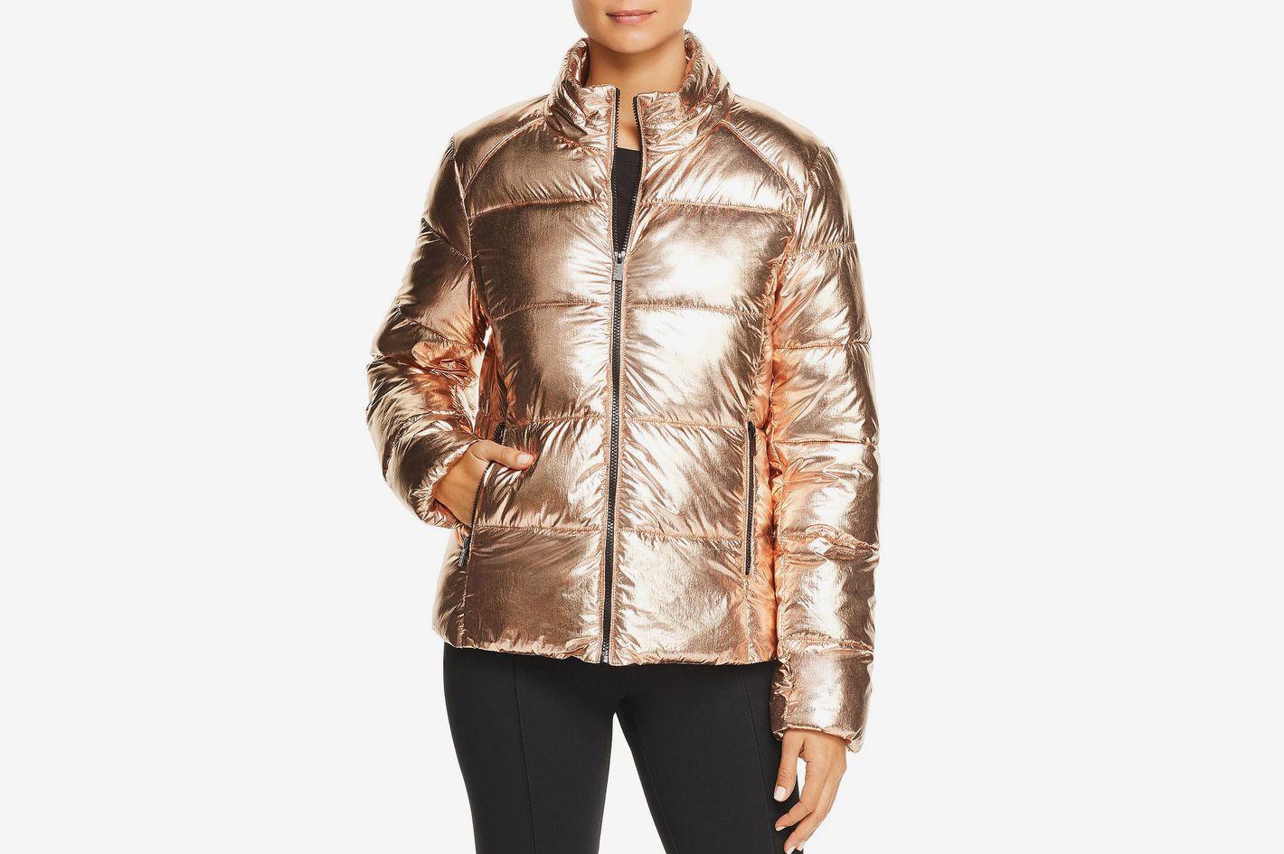Marc New York Performance Metallic Puffer Jacket