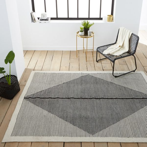 Loscan Indoor/Outdoor Flat Weave Kilim Rug