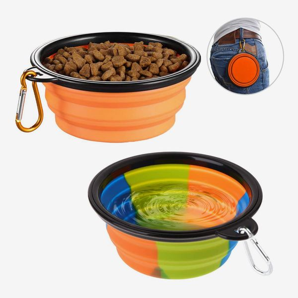 Collapsible Dog Bowl, Set of 2