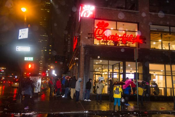 NYC's Huge Chick-fil-A Temporarily Closed After Health Violations [Updated]