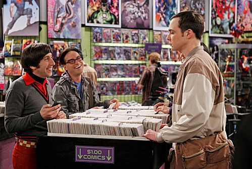 """The Weekend Vortex"" -- Sheldon (Jim Parsons, right) chooses to play video games with the guys (Simon Helberg, left; Johnny Galecki, center) rather than go with Amy to her aunt\'s birthday party, on THE BIG BANG THEORY, Thursday, March 8 (8:00-8:31 PM, ET/PT) on the CBS Television Network.   Photo: Cliff Lipson/CBS √?¬©2012 CBS Broadcasting, Inc. All Rights Reserved."