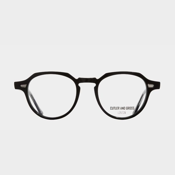 Cutler and Gross Black Optical Glasses