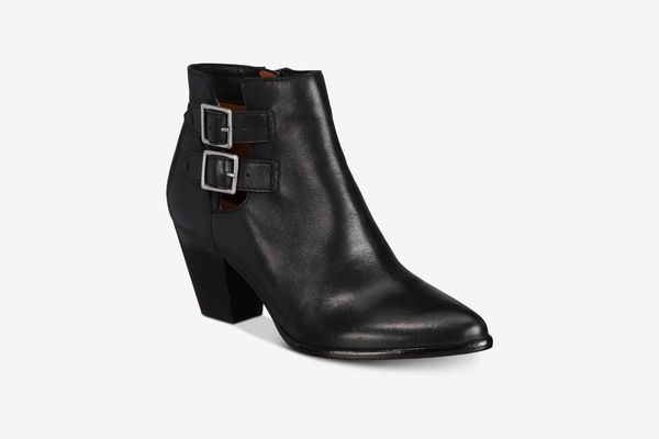 Jennifer Buckle Booties